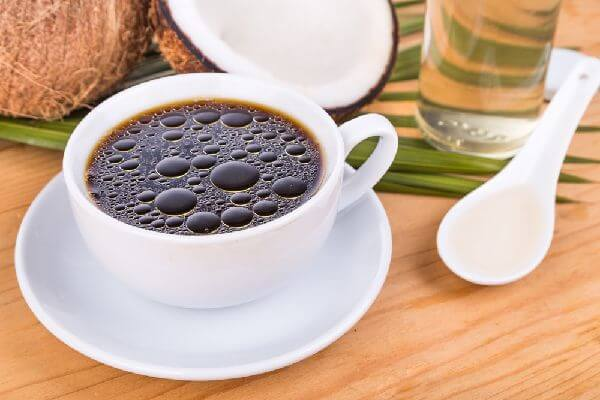 ココナッツオイルコーヒーの作り方