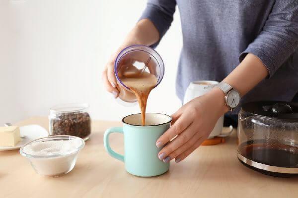 ココナッツオイルコーヒーの分離が気になる場合の対応
