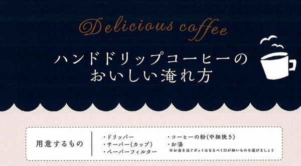 a青海珈琲(AOMI COFEE)の飲み方