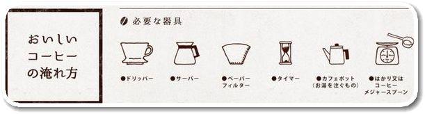極上コーヒーセレクションの飲み方