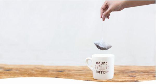 ロクメイコーヒーの飲み方