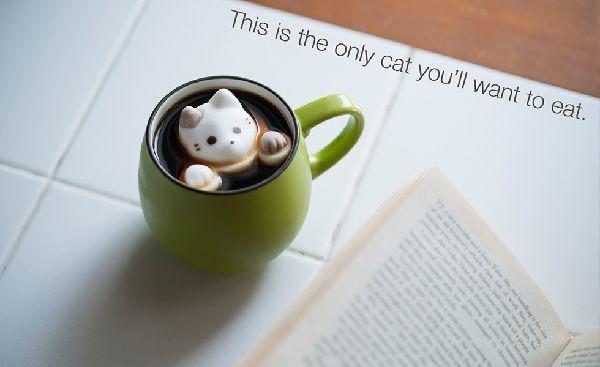 コーヒー「猫マシュマロ」