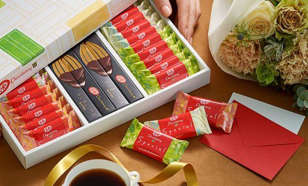 ●キットカット ショコラトリー ギフトボックス 3,240円 ミニ 1,080円(税込)