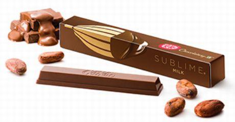 ●キットカット ショコラトリー サブリム ミルク 324円(税込)